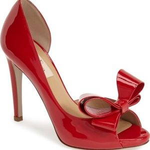 Red Valentino Bow Heels Riverdale Cheryl Blossom